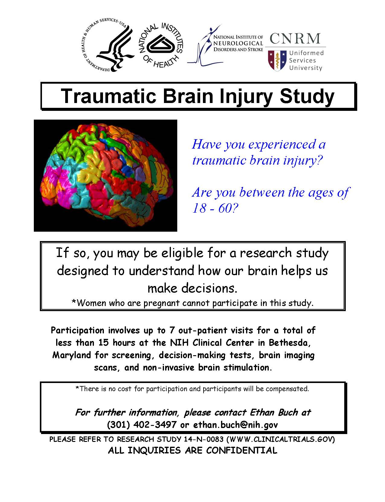 Neural Basis of Decision-Making Deficits in Traumatic Brain Injury